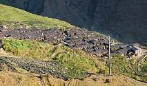 तंग्रिएन क्षणभरमै कुरुप बनेको हिमाली काखको सुन्दर गाउँ