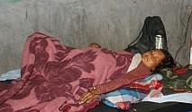 झाँक्रीबाट 'खोसेर' अस्पतालमा, जुट्यो रगत जोगियो ज्यान