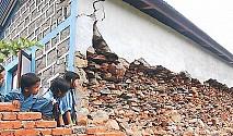 विद्यालय पुनर्निर्माणको काम शून्य